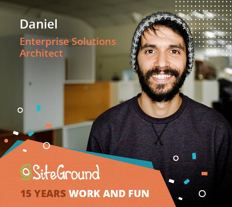 Daniel Enterprise Solutions Architect
